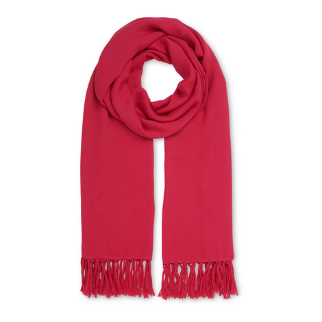 Woven Tassel Scarf, ${color}