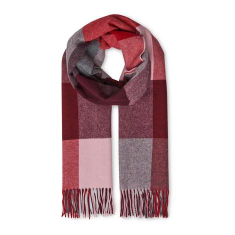 Modern Check Blanket Scarf, ${color}