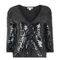 Short Sequinned Jacket, ${color}