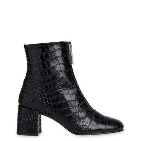 Rowan Croc-Embossed Boots, ${color}