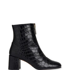 Rowan Croc-Embossed Boots