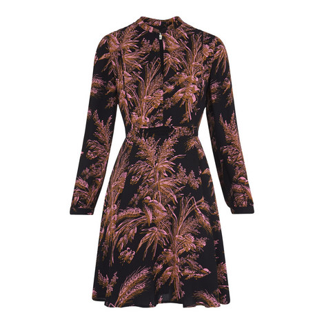 Camille Wren Print Dress, ${color}