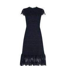 Niki Eyelash Lace Dress