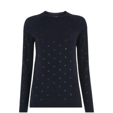 Starry Foil Embossed Top