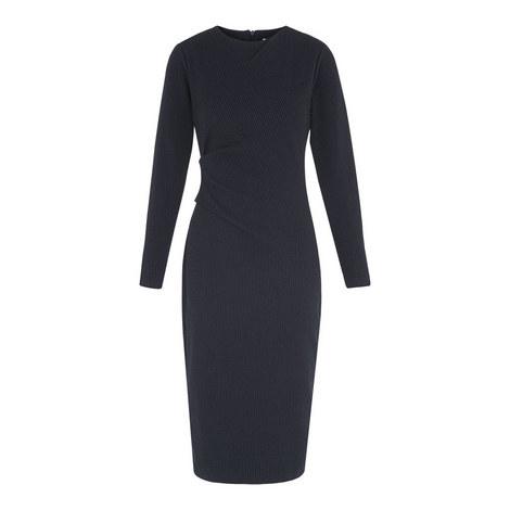 Drew Pinstripe Bodycon Dress, ${color}