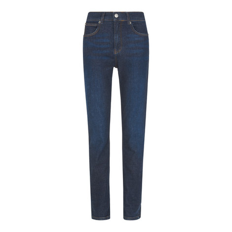 Dark-Wash Skinny Jeans, ${color}