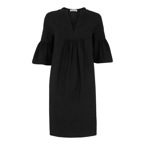 Luella Flute Sleeve Dress, ${color}