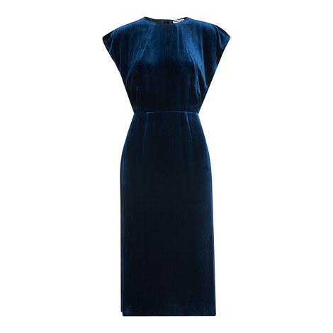 Nicole Cut-Out Velvet Dress, ${color}