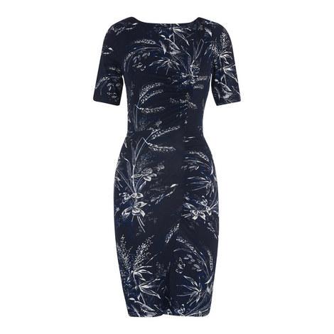 Wren Print Bodycon Dress, ${color}
