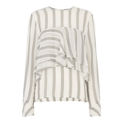 Sophiana Striped Blouse, ${color}