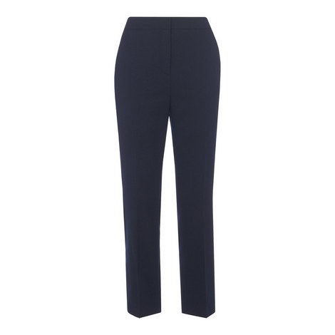 Woollen Tapered Trousers, ${color}