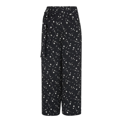Constellation Print Culottes, ${color}