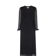 Venus Velvet Wrap Dress