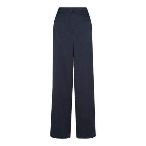Satin Wide Leg Trouser, ${color}