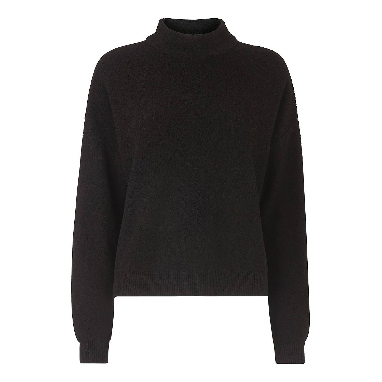 6a802b6d ... Textured Funnel Neck Sweater, ${color}