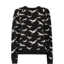 Crane Jacquard Sweater