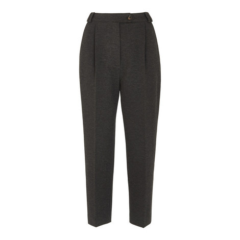Ponte Carrot Trouser, ${color}