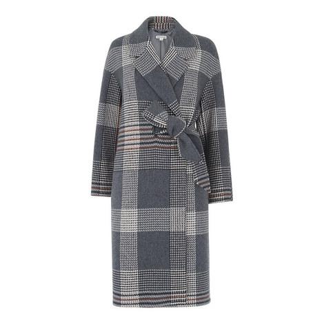 Magdelina Belted Wrap Coat, ${color}