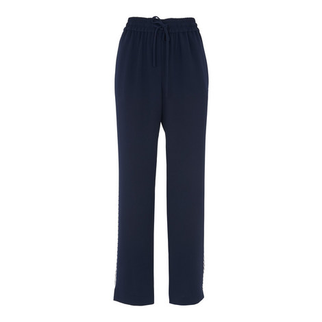 Tipped Straight Fit Trousers, ${color}
