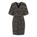 Frances Gathered Eclipse Dress, ${color}