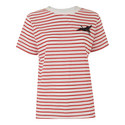 Embroidered Crane Stripe T-Shirt, ${color}