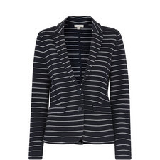Stripe Jersey Jacket