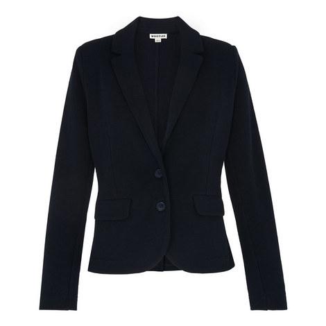 Lightweight Jersey Blazer, ${color}