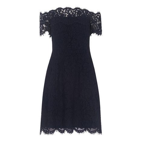 Off-Shoulder Lace Dress, ${color}