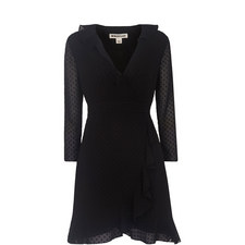 Mimi Frill Wrap Dress