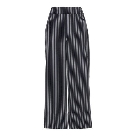 Stripe Wide Leg Crop, ${color}