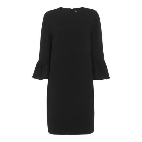 Raven Bell Sleeve Dress, ${color}