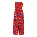 Lyza Tulip Print Silk Jumpsuit, ${color}