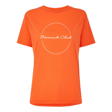 Brunch Club Logo T-Shirt, ${color}