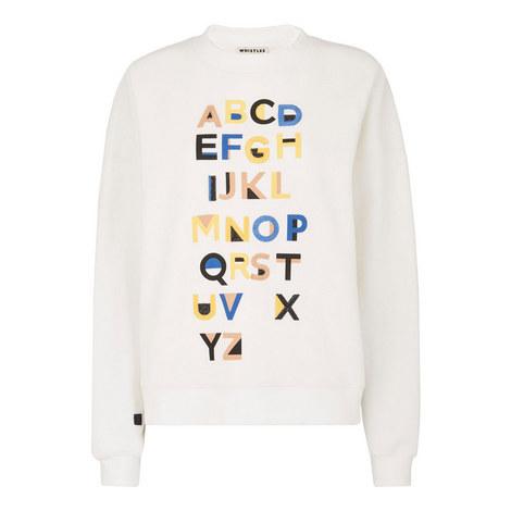 Alphabet Sweatshirt, ${color}