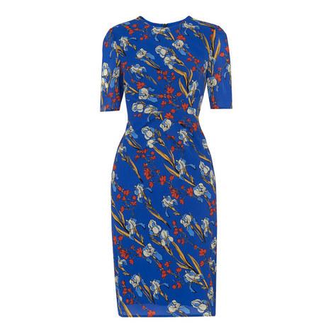 Iris Print Phoebe Bodycon Dress, ${color}