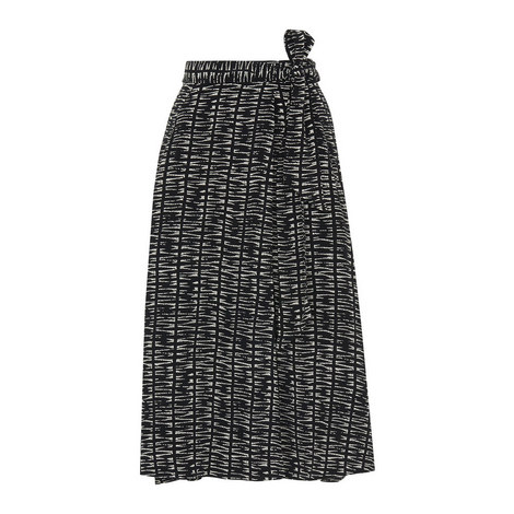 Sahara Printed Wrap Skirt, ${color}