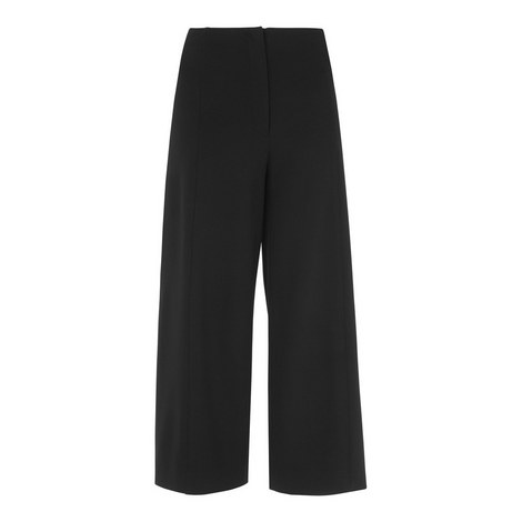 Ponte Wide Leg Culottes, ${color}