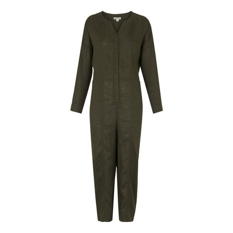 Jira Relaxed Linen Jumpsuit, ${color}