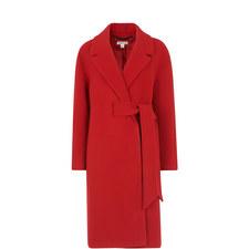 Magdelina Belted Wrap Coat