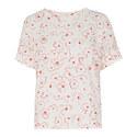 Magnolia Print Linen T-Shirt, ${color}