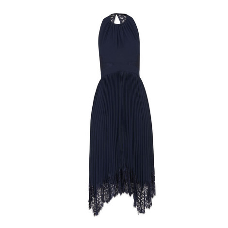 Lana Lace Pleated Dress, ${color}