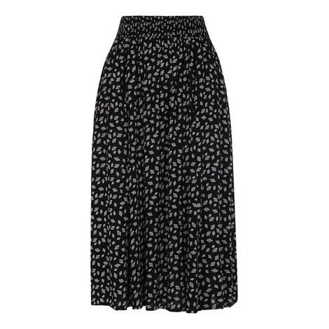 Gobi Print Textured Skirt, ${color}