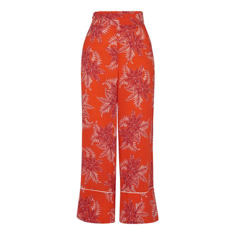 Palmyra Print Trousers, ${color}