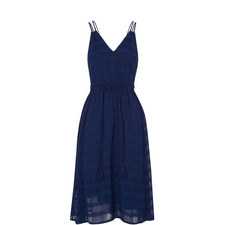 Hari Textured Strappy Dress