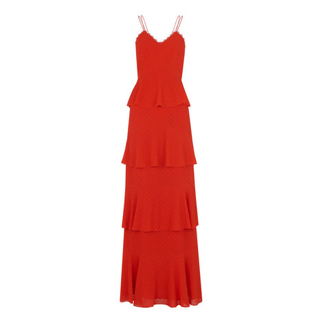 Anette Dobby Tiered Maxi Dress, ${color}