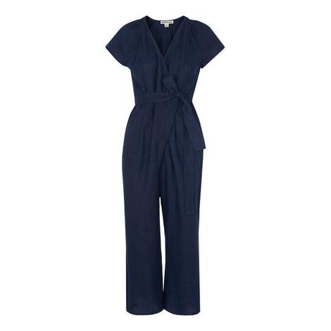 Etta Linen Jumpsuit, ${color}