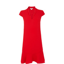 Federica Frill V-Neck Dress