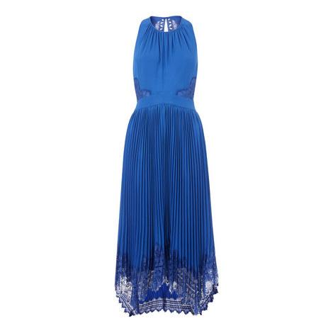 Lana Lace Pleat Dress, ${color}