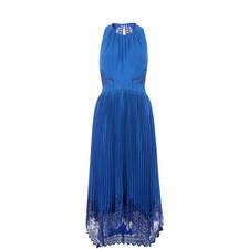Lana Lace Pleat Dress
