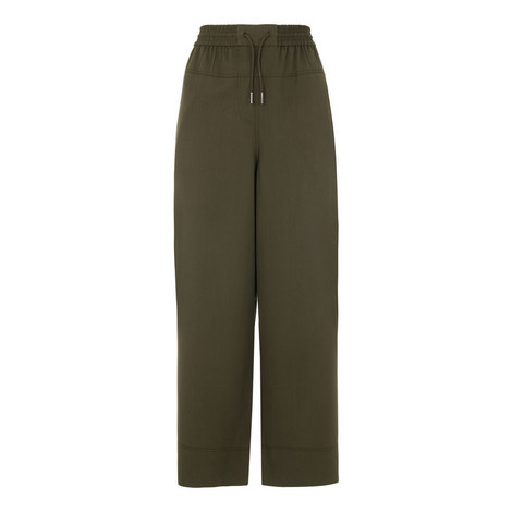 Casual Cropped Trousers, ${color}